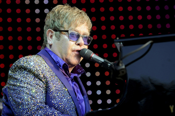 Elton John having a second child according to reports