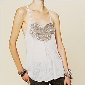 Persephone Beaded Tank