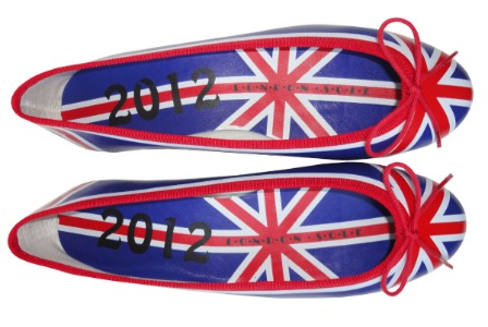  Olympic French Sole ballet pumps