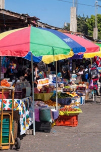 Market in Antigua