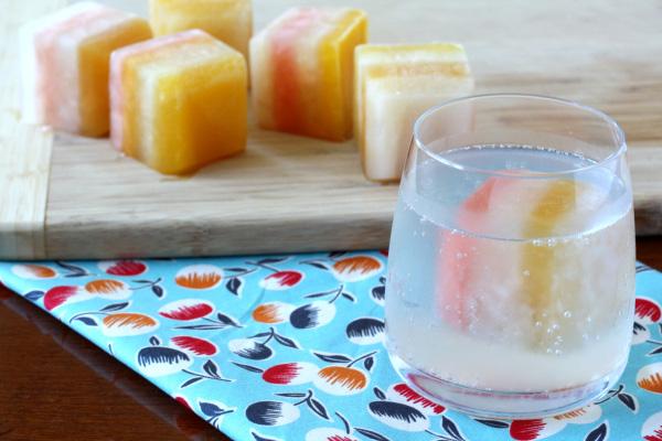 A frozen layered treat!
