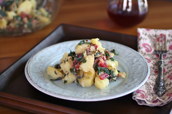 Gluten-free potato salad