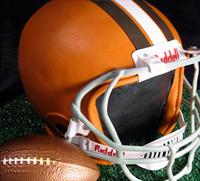 Groom cake: Football