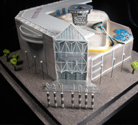 Groom cake: stadium
