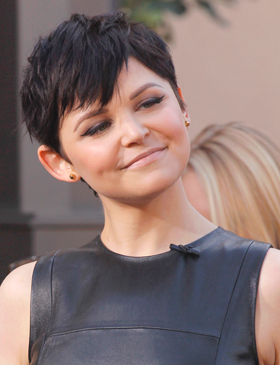 Ginnifer Goodwin's pixie cut
