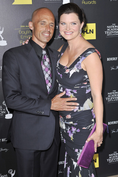 Pregnant Bold and the Beautiful star Heather Tom