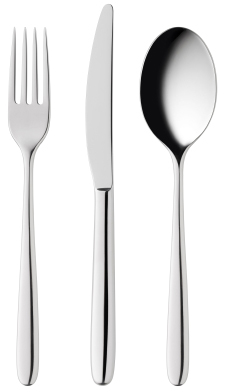 Fork, knife, spoon