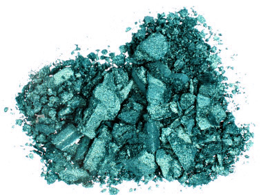 turquoise eyeshadow