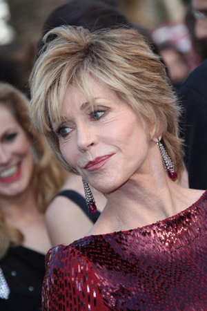 Jane Fonda is gettin' busy 24/7