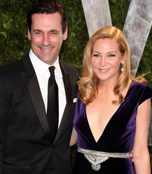 Jennifer Westfeldt and John Hamm