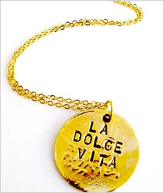 Our pick: Alisa Michelle La Dolce Vita Necklace, $62.