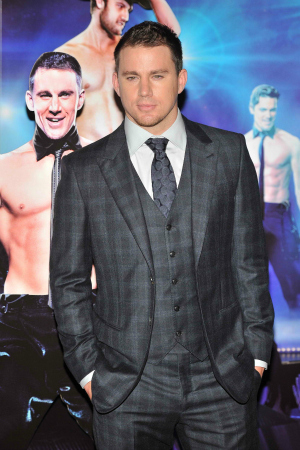 Channing Tatum at the Magic Mike UK Premiere