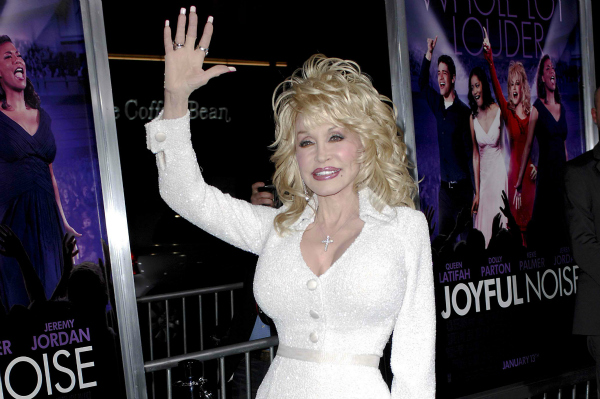 Dolly Parton at Joyful Noise Movie Premiere