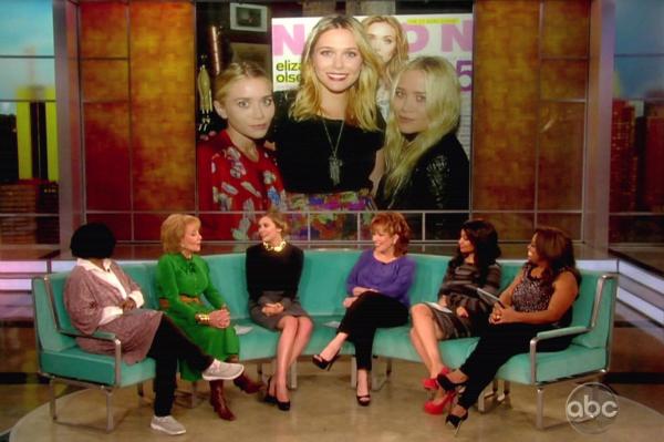 Elizbeth Olsen on ABC's The View