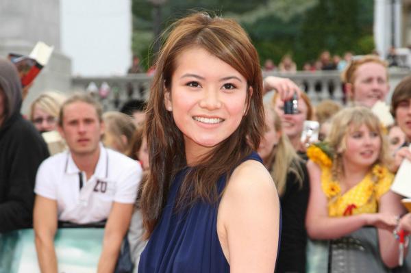 Katie Leung and robert pattinson 2012
