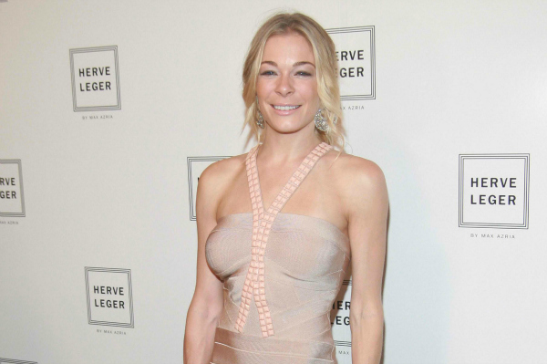 LeeAnn Rimes at Mercedes Benz Event