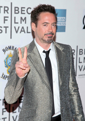 Robert Downey Jr. at 2012 Tribeca Film Festival