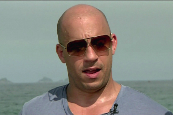 Vin Diesel on NBC's Today Show