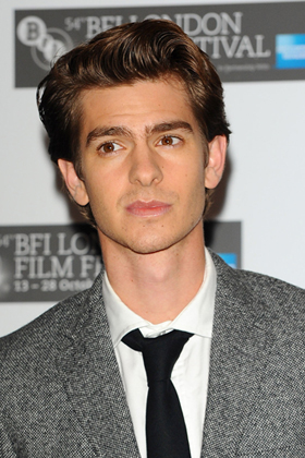 Andrew Garfield at BAFTA awards