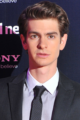Andrew Garfield at The Social Network premiere