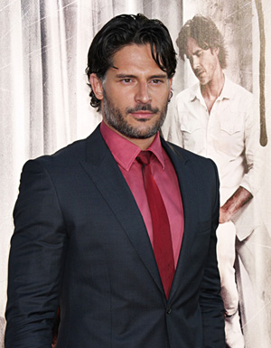 Joe Manganiello at True Blood premiere