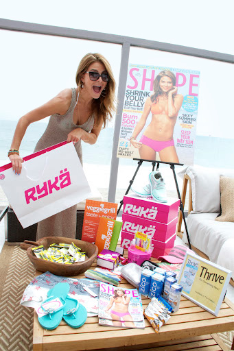 Maria Menounos with Shape magazine cover