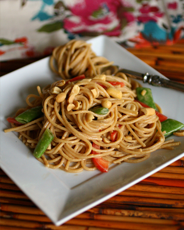 Meatless Monday: Cold sesame-peanut noodle salad