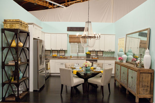 Design Star season 7: Kitchen by Danielle Colding & Britany Simon