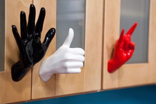 Design Star season 7: hands for door handles