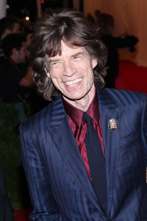 "Mick Jagger got lots of ""Satisfaction"""