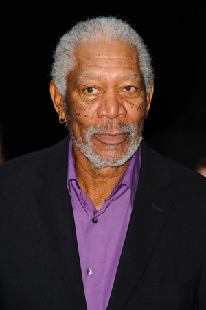 Morgan Freeman gives Barack Obama a $1 million donation