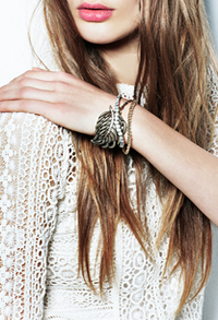 Natural Wonder bracelets by Kate Bosworth's Jewelmint