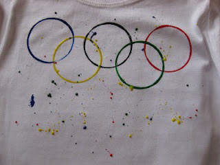 Olympic rings t-shirt
