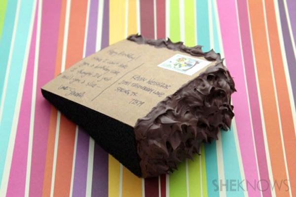 Cartões postais Bolo Passo 9: volta de bolo cartão postal