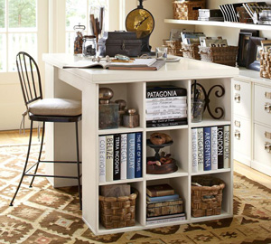 Bedford project table from Pottery Barn