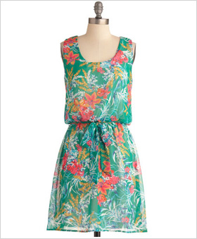 simple but stylish sundress i