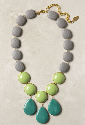 oversize necklace