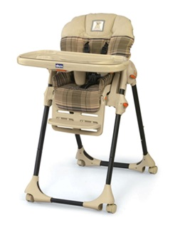 Recalled Chicco Polly High Chair
