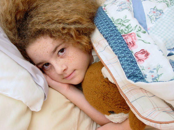 How to deal when your child is scared