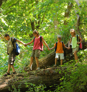 5 Ways to get outdoors without the sun