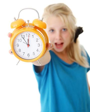 time saving tips for kids