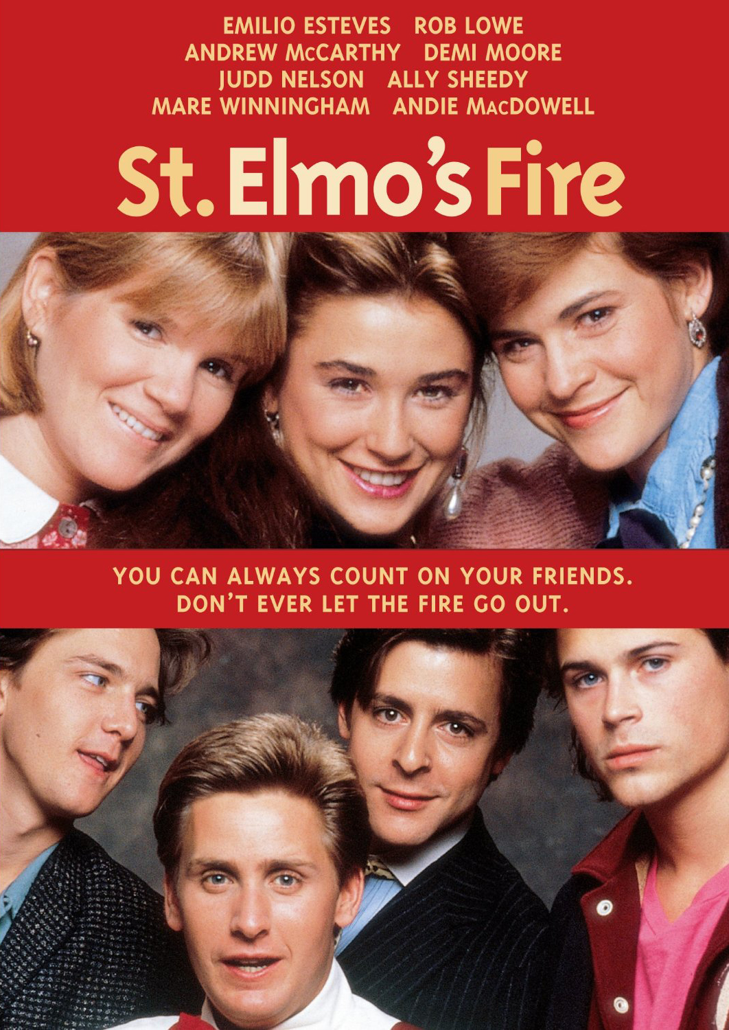 St Elmo's Fire cover