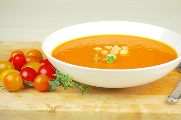 A slow cooked soup for warm weather