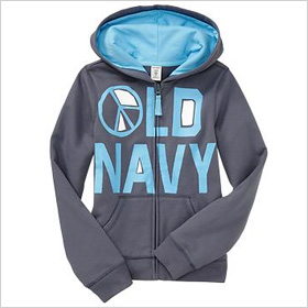 Graphic fleece hoodies