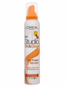 L'oreal Paris Studio Line Silk & Gloss Curling Mousse