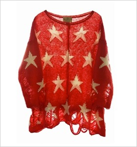 Our pick: Wildfox seeing stars sweater, Shopbop.com, $60