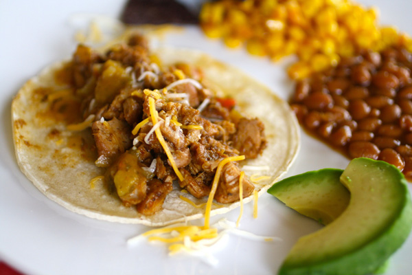Sunday Dinner: Pork carnitas tacos