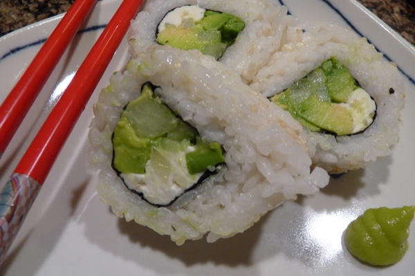 sushi without seafood