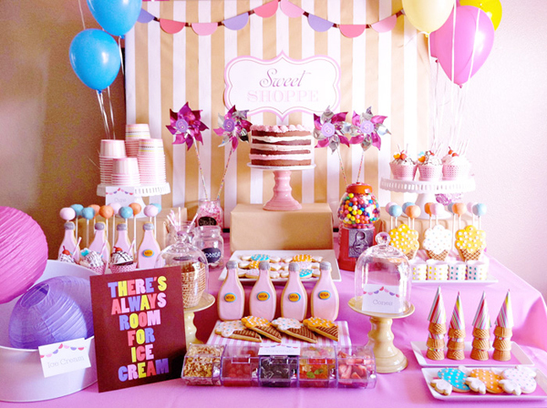 Gallery For gt Ice Cream Party Ideas
