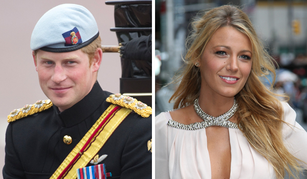 Prince Harry and Blake Lively